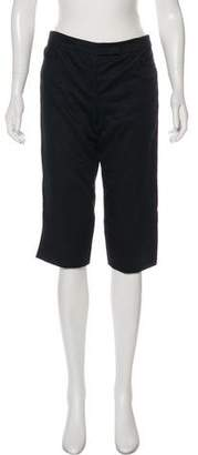Alexander McQueen Mid-Rise Knee-Length Shorts
