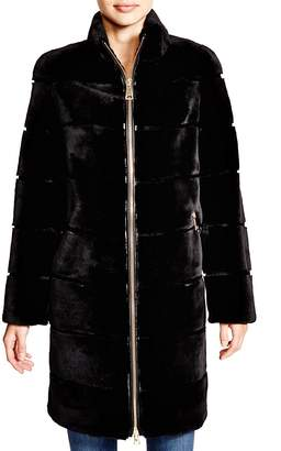 Maximilian Furs Maximilian Sheared Rabbit Coat - 100% Exclusive