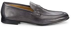 Saks Fifth Avenue Men's COLLECTION BY MAGNANNI Tri-Media Penny Loafers