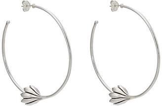 Pamela Love Womens Anemone Hoop Earrings f5VP9n