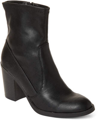 Dolce Vita Black Juke Faux Leather Booties