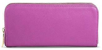 Merona; Women's Solid Zip Around Faux Leather Wallet - Merona; $14.99 thestylecure.com