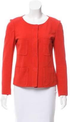 Sonia Rykiel Collarless Lightweight Jacket
