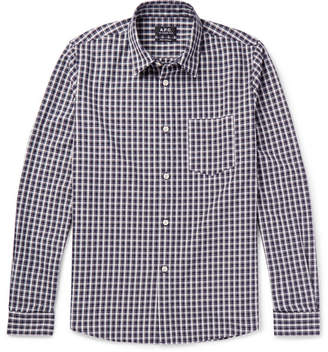 A.P.C. Victor Checked Cotton Oxford Shirt