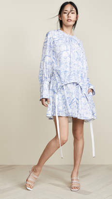 Tibi Short Shirtdress