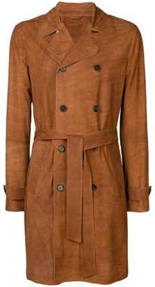 Desa 1972 perforated double-breasted coat