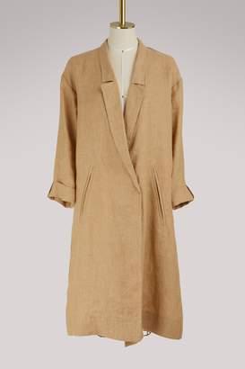 Forte Forte Oversized linen coat