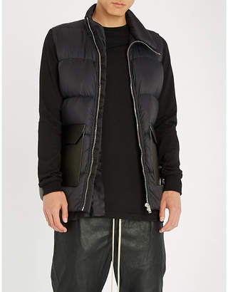 Rick Owens Padded shell-down gilet