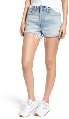 Levi's 501(R) High Waist Denim Shorts