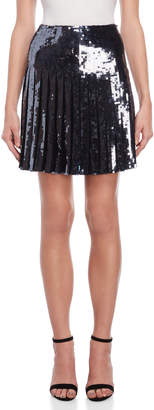 Emilio Pucci Pleated Sequin Skirt