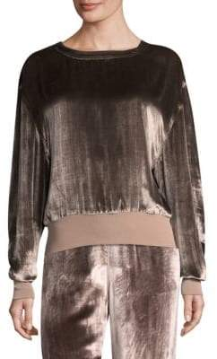 Rag & Bone Crushed Velvet Pullover
