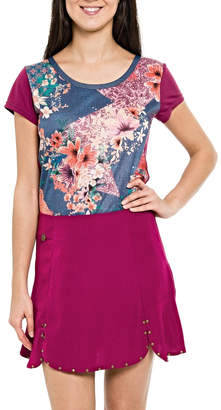 Smash Wear Multipattern Colors Top
