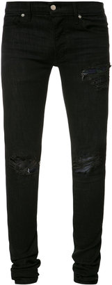 Rhude Boxer super skinny jeans $610 thestylecure.com
