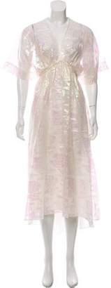 Tory Burch Floral Maxi Dress