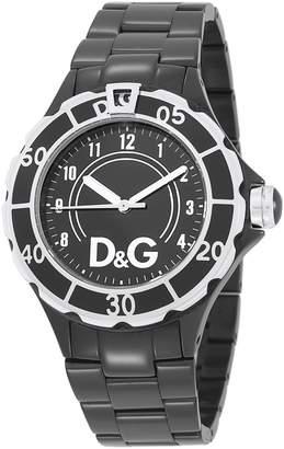 Dolce & Gabbana THE BRAND Women's New Anchor Analog Watch Black DW0662