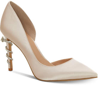 INC International Concepts I.n.c. Women Keeley Ring-On-Heel Bridal Pumps, Women Shoes
