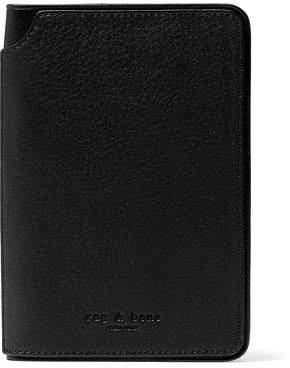 Rag & Bone Pebbled-Leather Passport Cover
