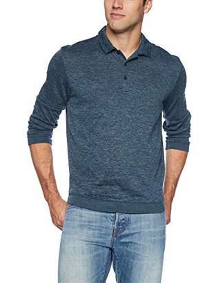 Van Heusen Men's Sweater Fleece Long Sleeve Polo