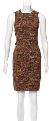 Michael Kors Sleeveless Printed Dress