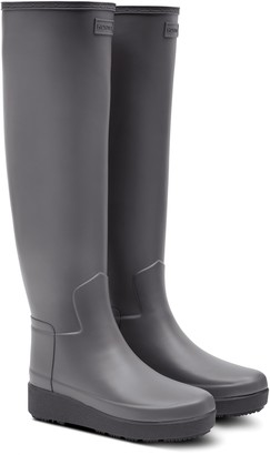 Hunter Refined Creeper Over the Knee Rain Boot