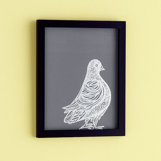 PATCH NYC Framed Wall Art, Pigeon