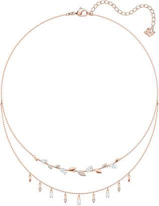 Swarovski Mayfly Layered Necklace