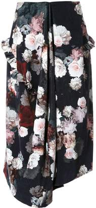 Preen by Thornton Bregazzi flower print skirt