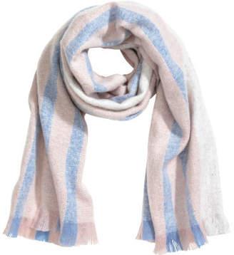 H&M Block-print scarf - Blue