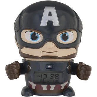 Bulbbotz BulbBotz Marvel Avengers: Infinity War Captain America Night Light Alarm Clock