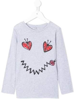 Stella McCartney Ladybug print T-shirt