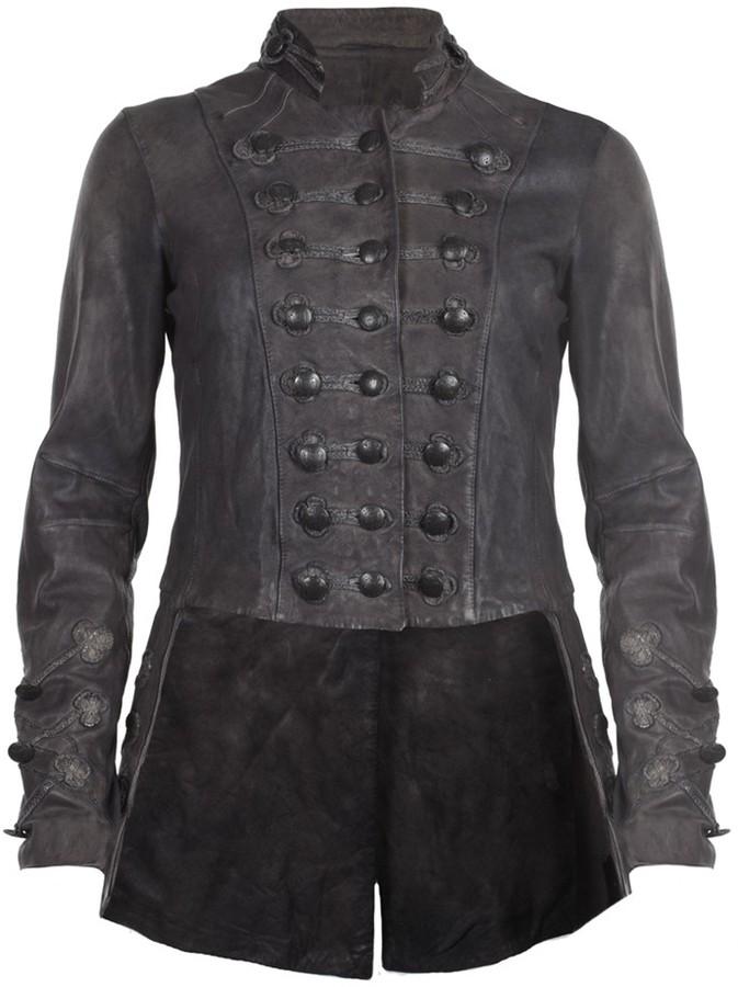 Brocade Military Tailcoat
