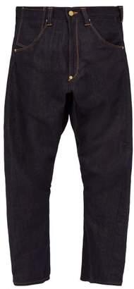 Junya Watanabe Contrast Pocket Wide Leg Jeans - Mens - Multi