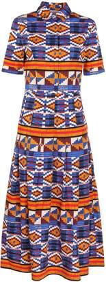 Stella Jean Ikat Print Dress