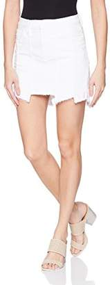 Hudson Women's Weekender Step Hem Jean Skirt