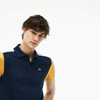 Lacoste Men's Slim Fit Colorblock Stretch Pima Cotton Pique Polo