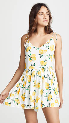 Kate Spade New York Lemon Beach Romper
