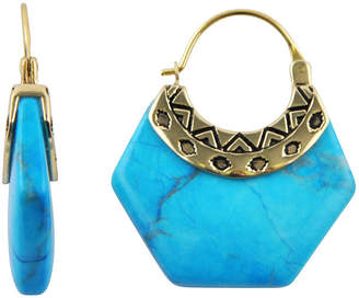 Artsmith BY BARSE Art Smith by BARSE Genuine Blue Howlite Earrings