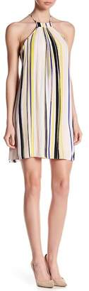1 STATE 1.State Trapeze Halter Dress