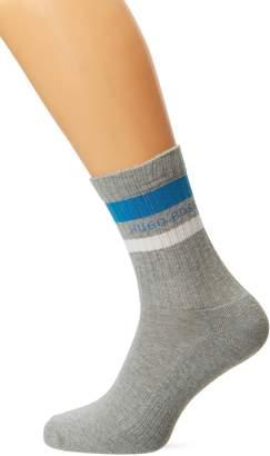 BOSS Men's Qs Rib Stripe Cc Ankle Socks