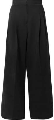 J.W.Anderson Wool-blend Wide-leg Pants - Black