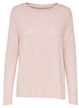 Only Long Sleeve Draped Pullover