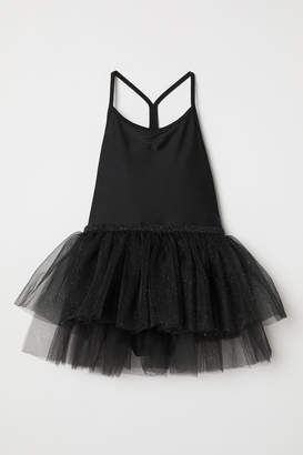 H&M Leotard with Tulle Skirt - Black