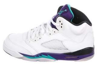 Nike Jordan Boys' 5 Retro High-Top Sneakers