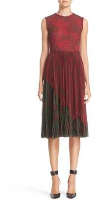 Women's Jason Wu Floral Print Pleat Dress $1,995 thestylecure.com