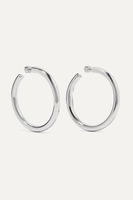 Jennifer Fisher Samira Silver Hoop Earrings