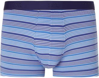 Derek Rose Striped Stretch-Cotton Boxer Briefs $50 thestylecure.com