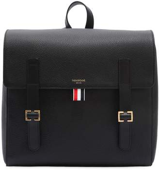 Thom Browne Unstructured Leather Book Backpack