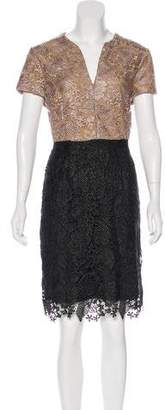 Hoss Intropia Lace Knee-Length Dress