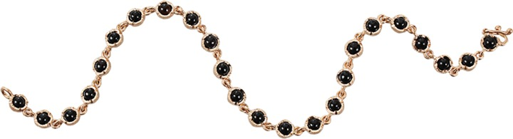 Irene Neuwirth JEWELRY 3MM Onyx Bracelet