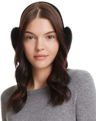 Surell Velvet & Mink Fur Earmuffs